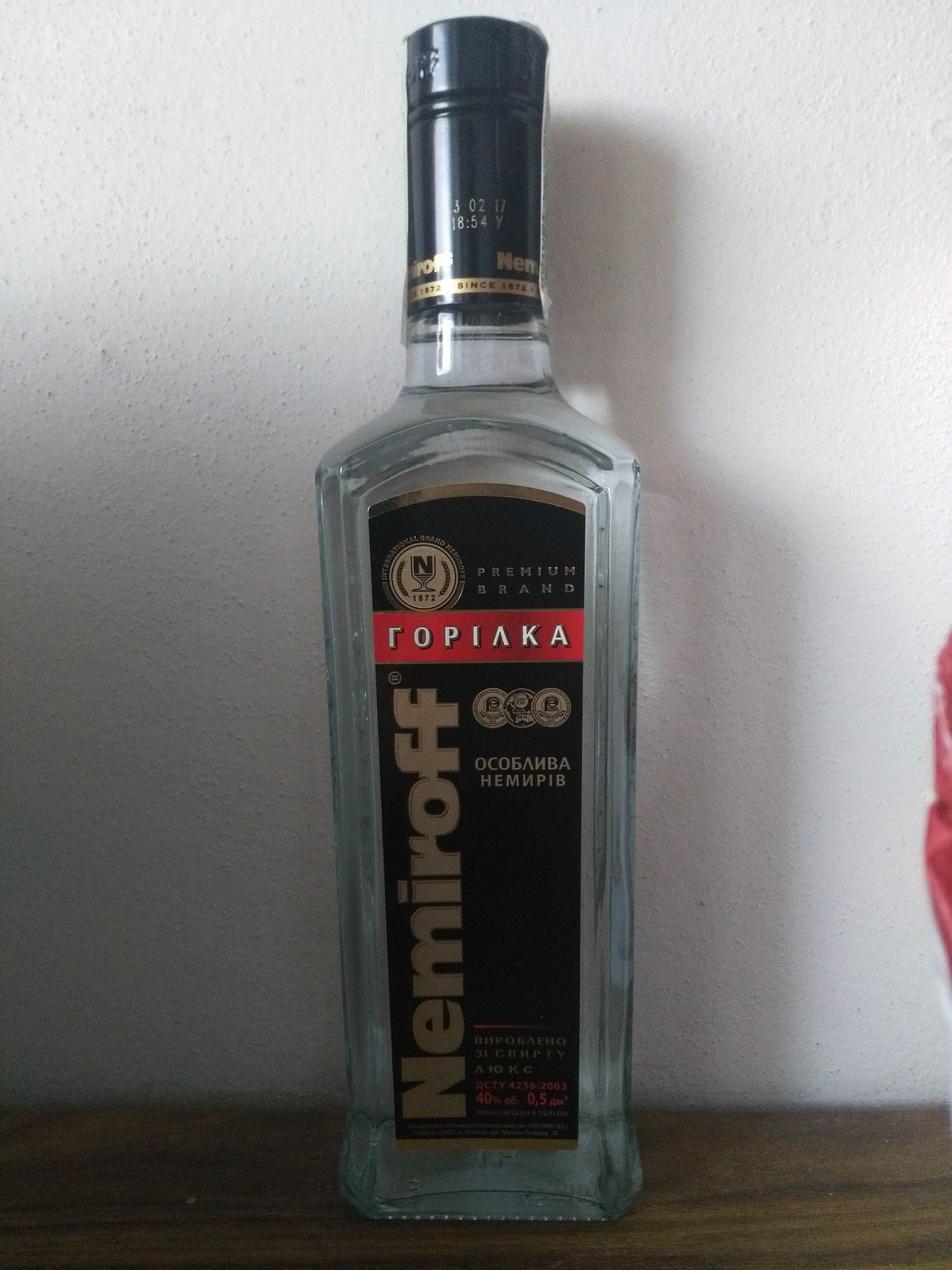 vodka nemiroff