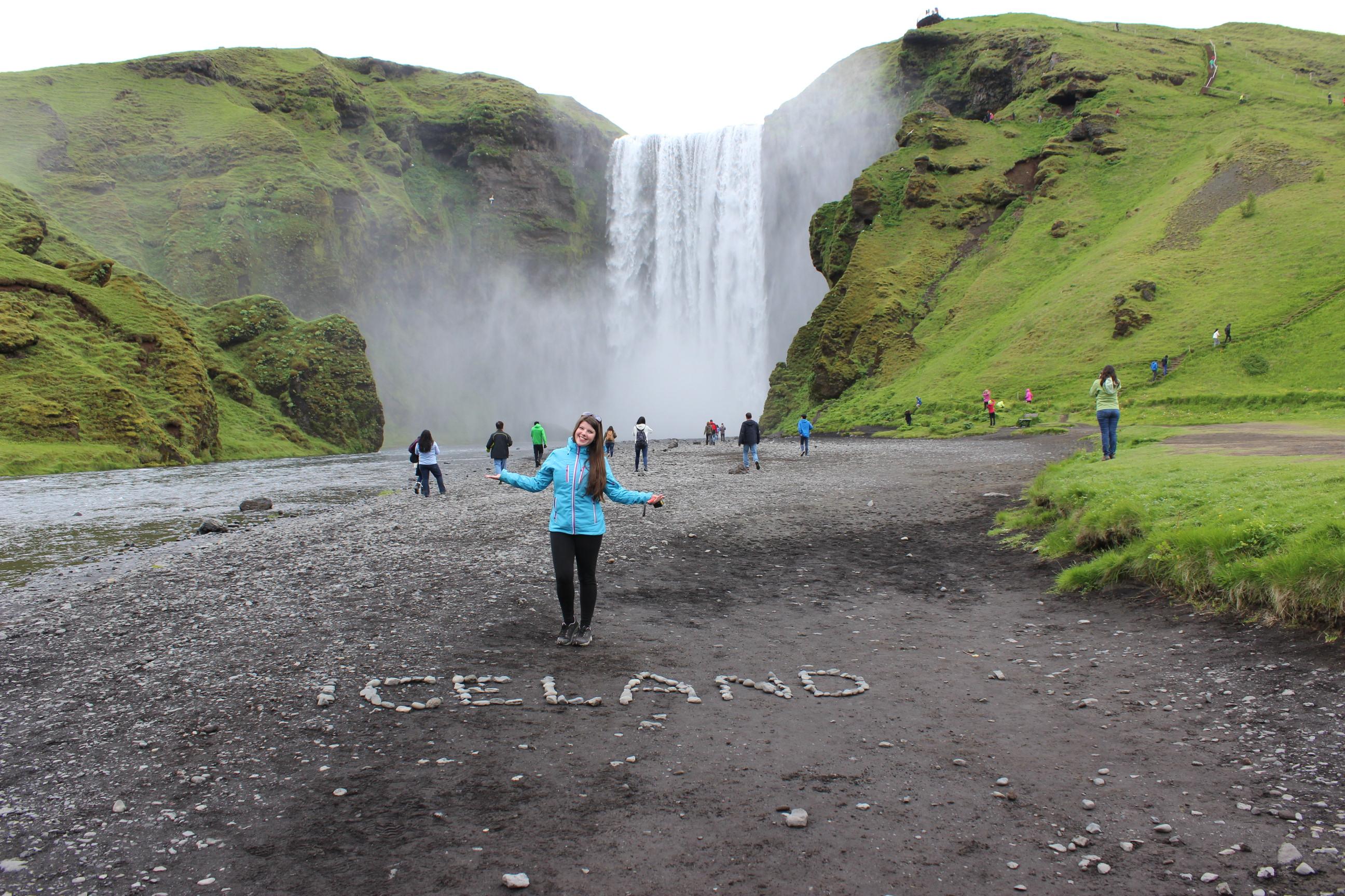 ISLAND - SKOGAFOSS