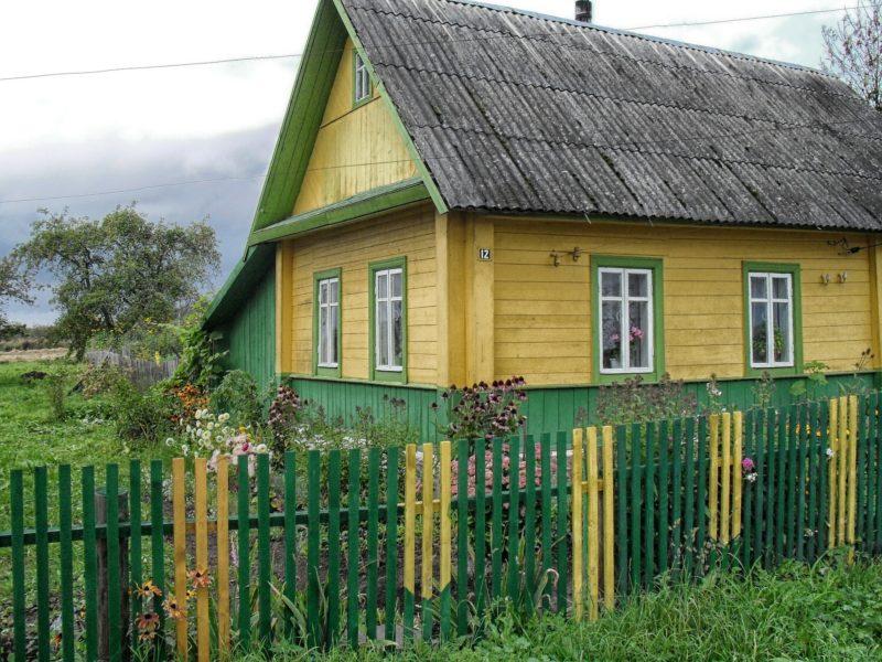 bělorusko vesnice