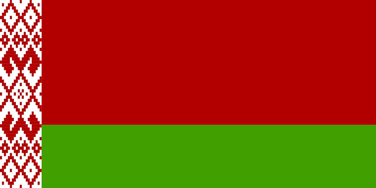 běloruská vlajka