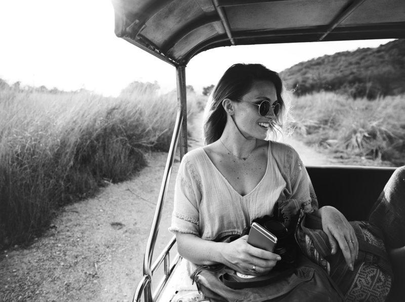 cestovatelka