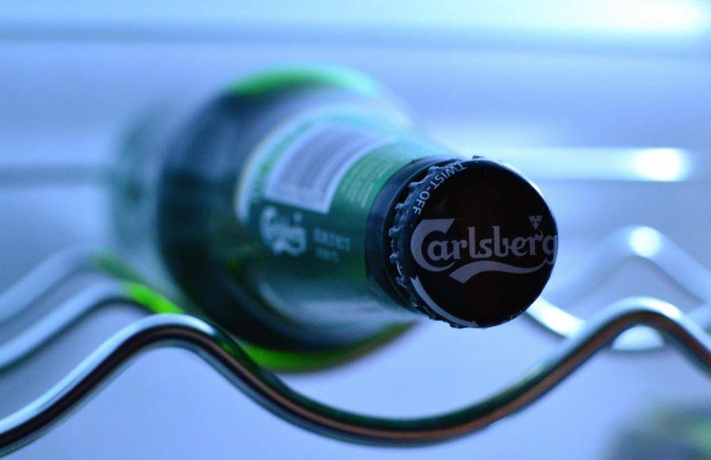 Pivo Carlsberg je jedním z nejoblíbenějších dánských piv.