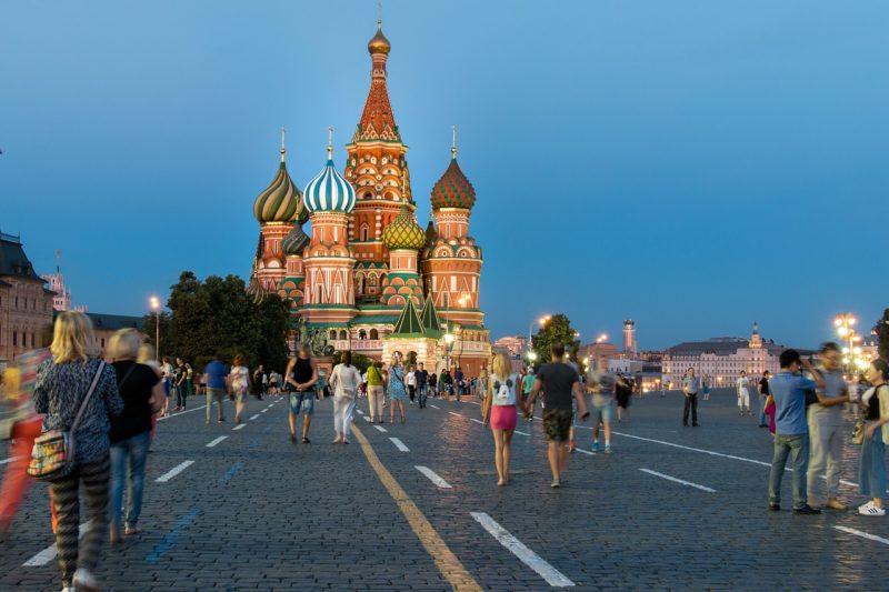 Zajímavá stavba Ruska