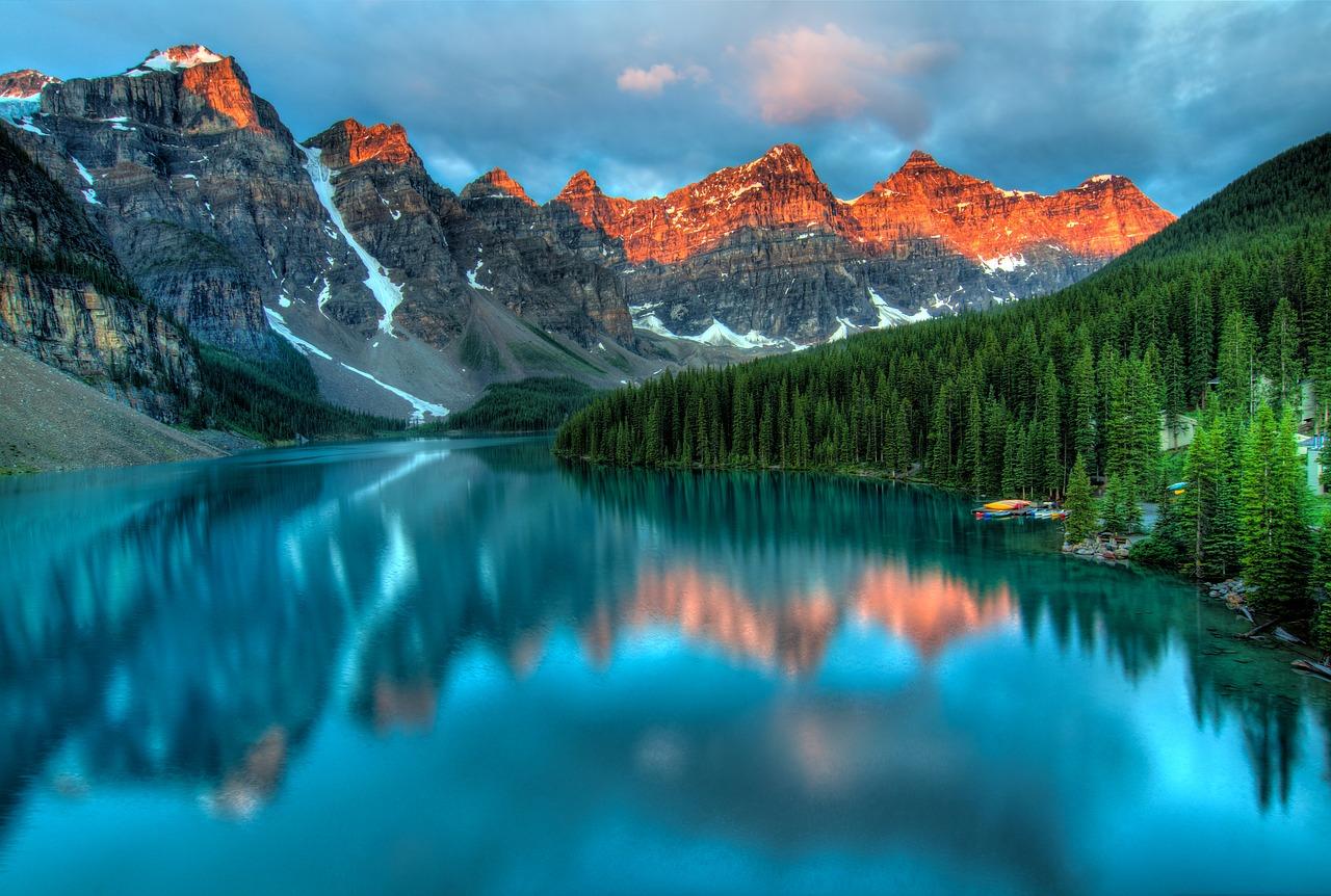 Cestování nám pomáhá vidět krásy přírody.
