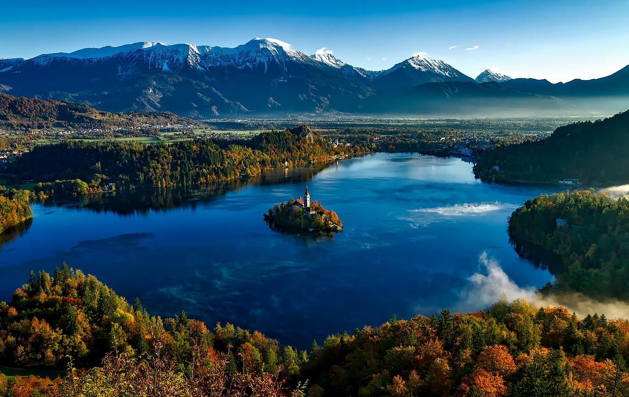 Bled je takovým symbolem Slovinska.