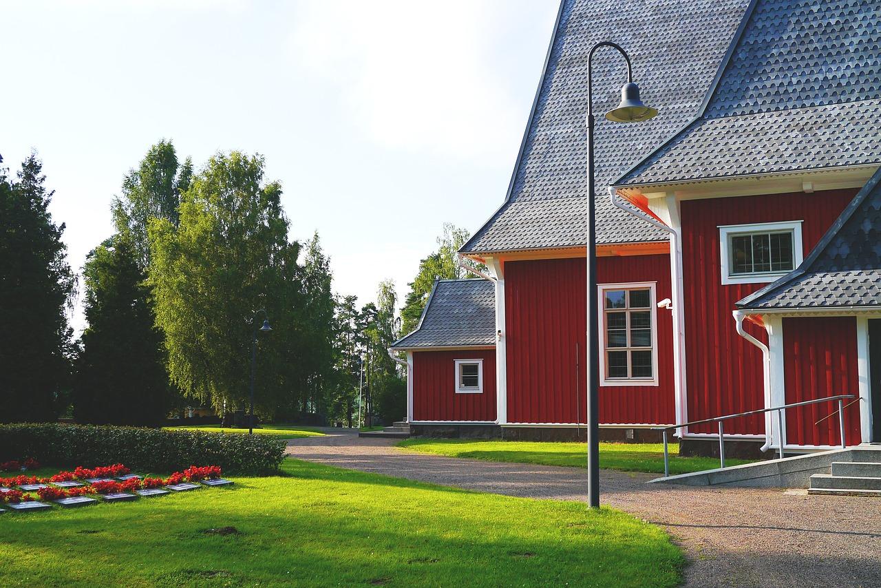 Toto je finský kostel