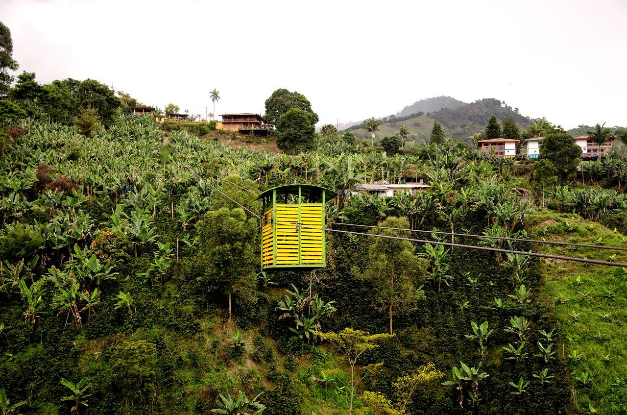 Kolumbie je zemí se třetím největším exportem kávy na světě.