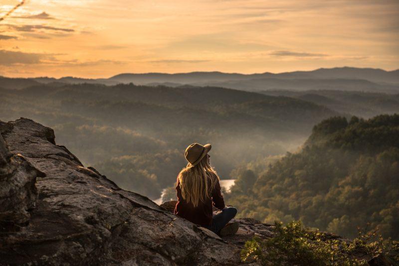 Cestování a příroda je štěstí.
