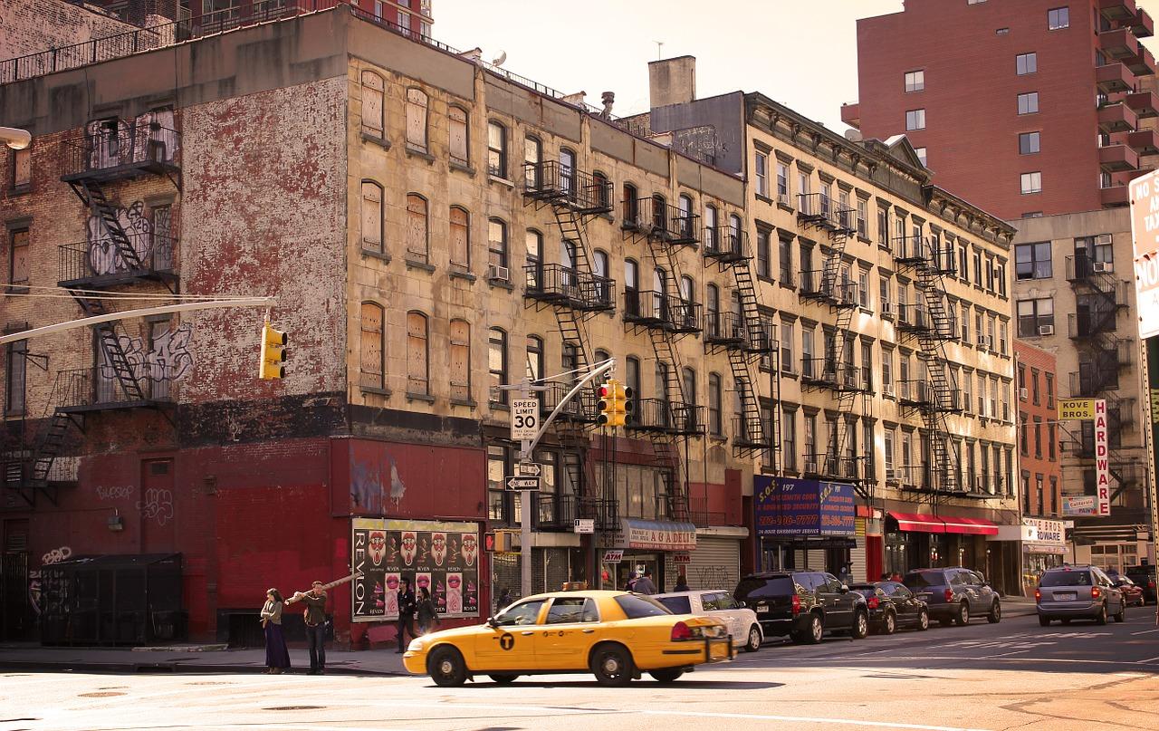 Výsadou New Yorku jsou žluté taxíky.