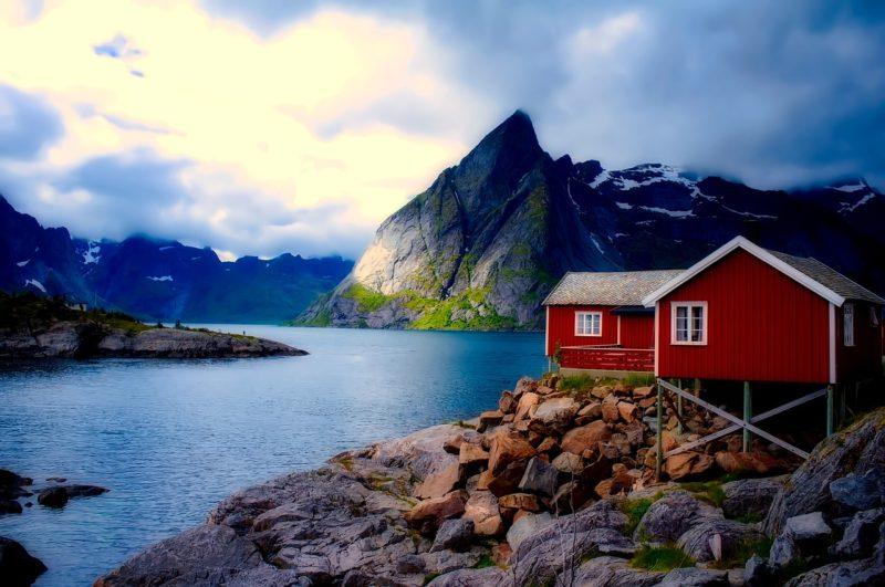 Norská příroda je úchvatná a nabízí mnoho krásných míst..