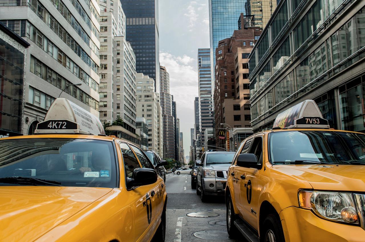 New York je plný žlutých taxíků.