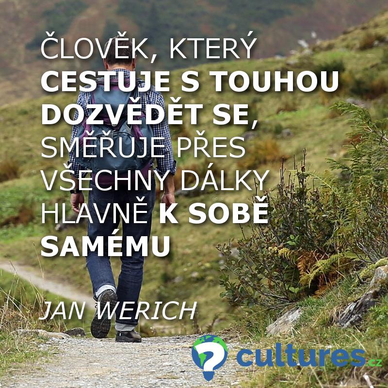 Cestování a touha - Jan Werich